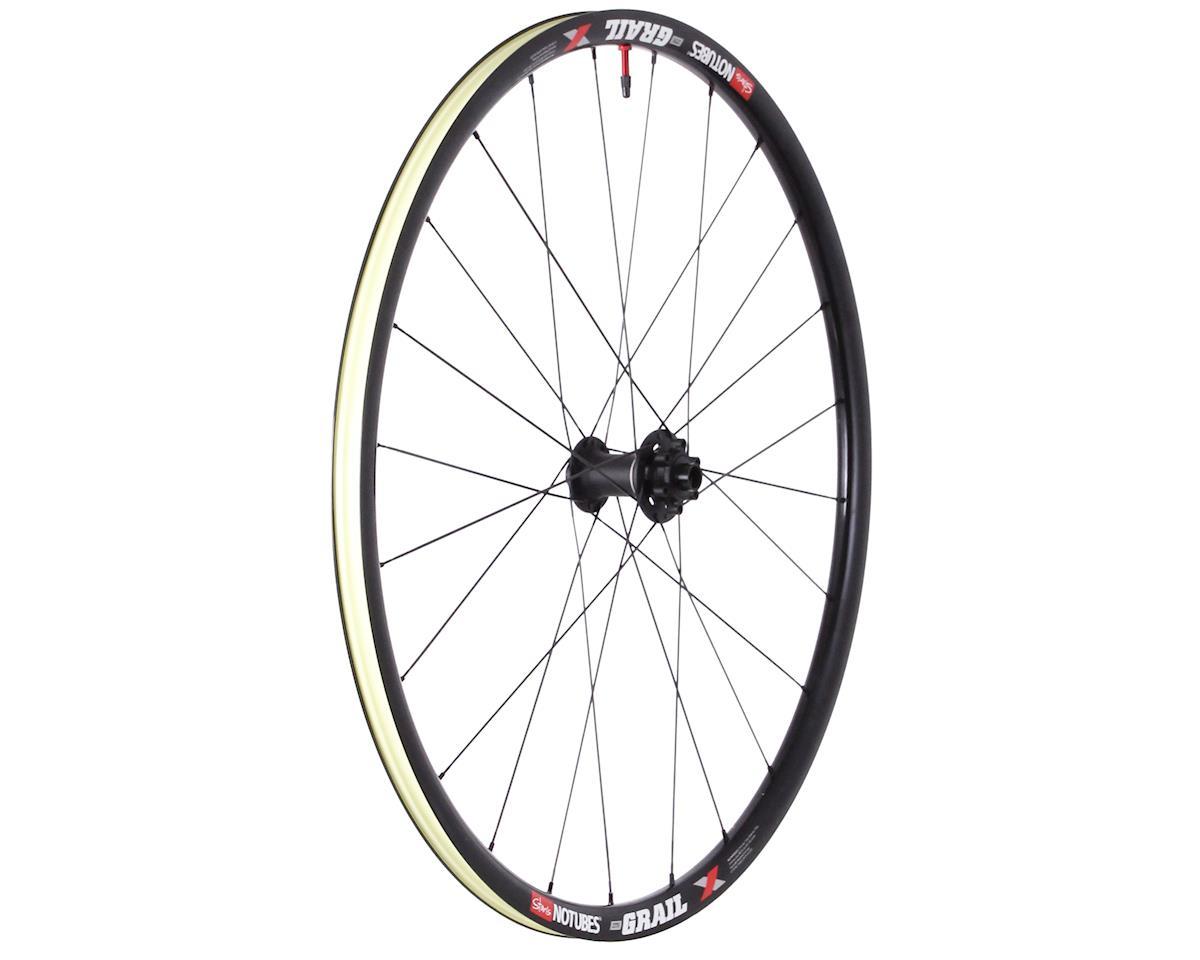 Stans Grail Pro disc TA front wheel, 700c - black