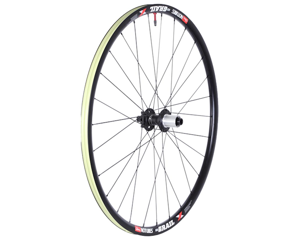 Grail Pro disc TA rear wheel, 700c (HG-11) - black