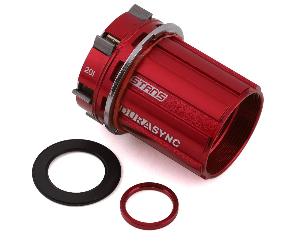 Stans Durasync Freehub Body (Red) (Shimano)