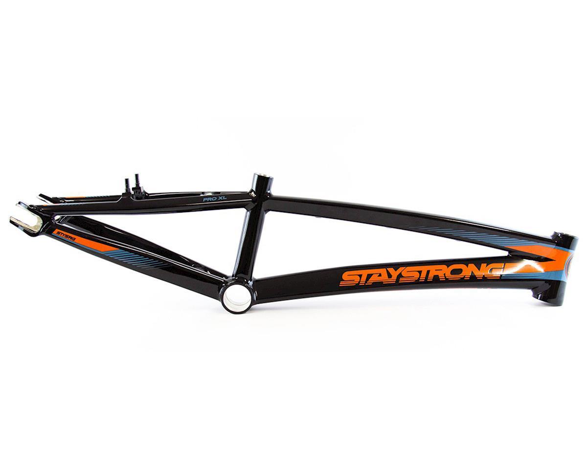 Stay Strong For Life V2 Bike Frame (Black) (Pro XXXL)