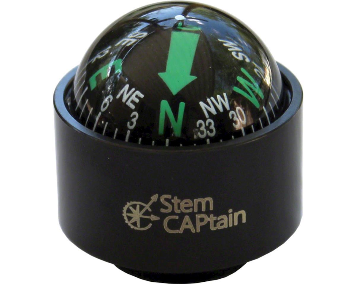 StemCAPtain Compass Headset Top Cap: Black
