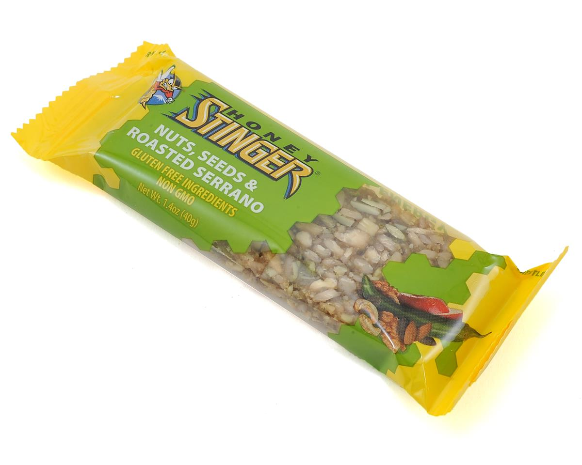 Honey Stinger Nuts, Seeds and Roasted Serrano Snack Bar (15)