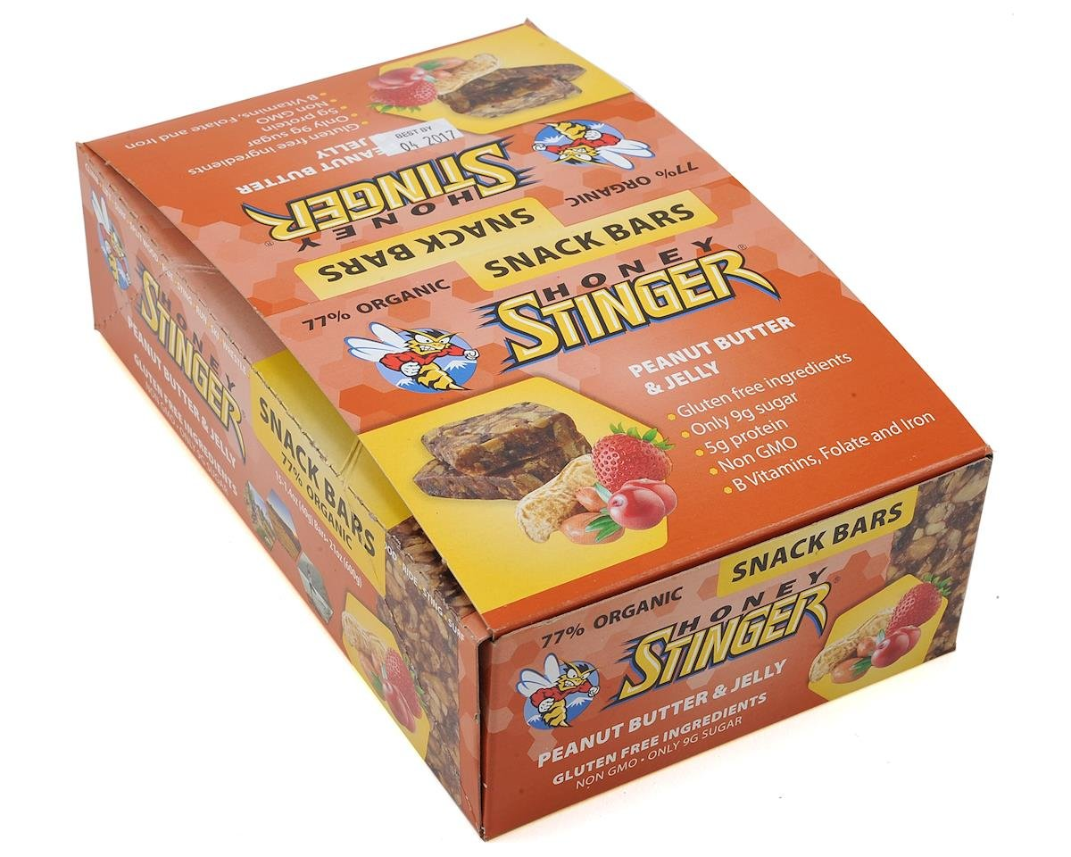 Honey Stinger Peanut Butter and Jelly Snack Bar (15)