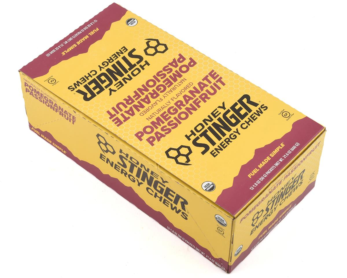 Honey Stinger Organic Energy Chews (Pomegranate Passion) (12 1.8oz Packets)