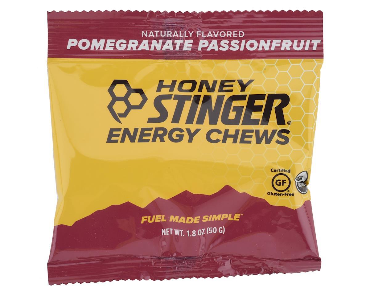 Honey Stinger Organic Energy Chews (Pomegranate Passion) (12)