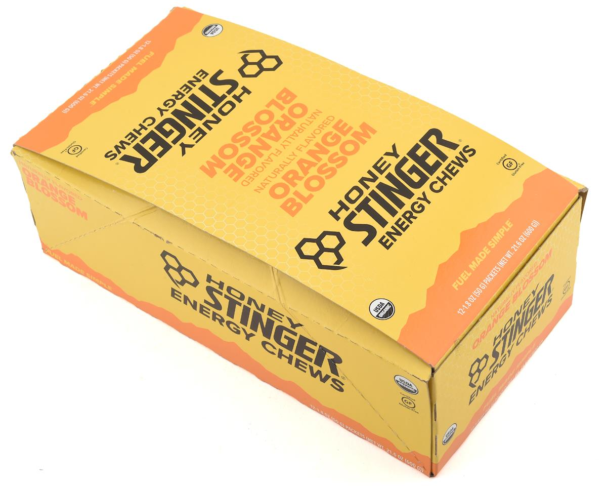 Honey Stinger Organic Energy Chews (Orange Blossom) (12 1.8oz Packets)