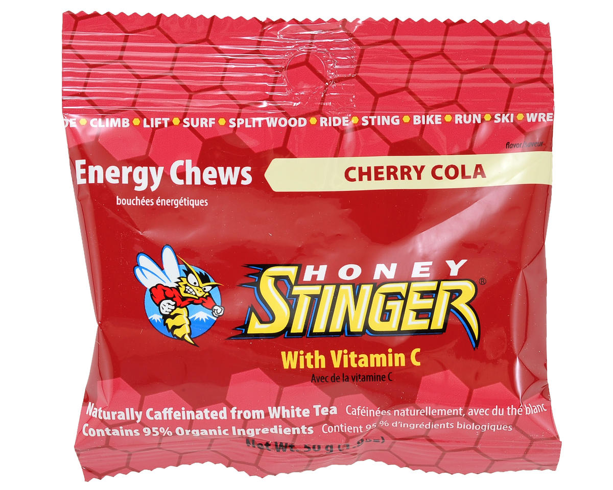 Honey Stinger Organic Energy Chews (Cherry Cola) (1 1.8oz Packet)