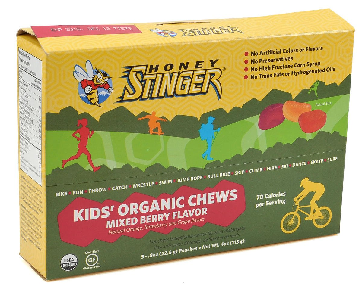 Honey Stinger Kids Organic Energy Chews (Box Of 5)