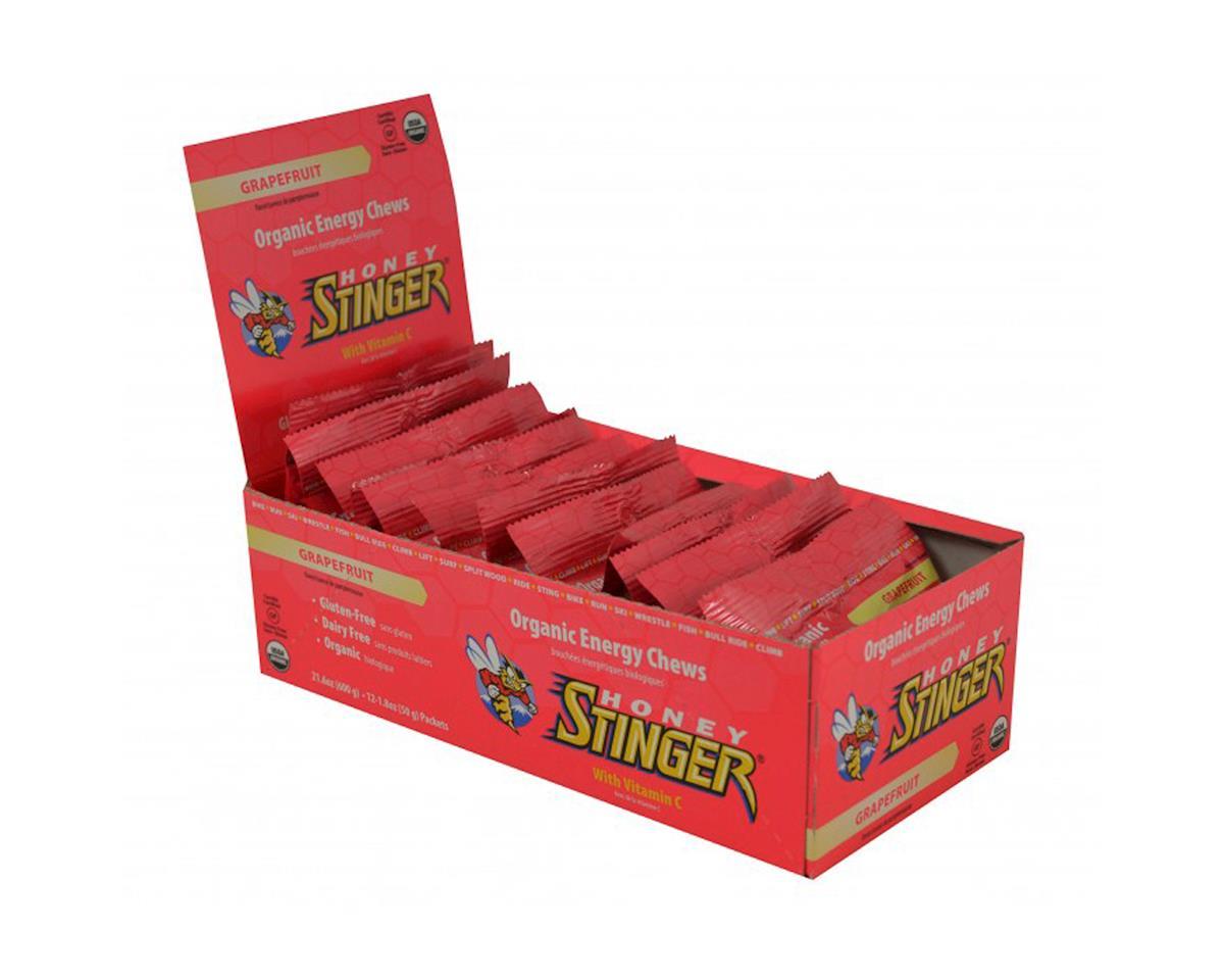 Honey Stinger Organic Energy Chews (Grapefruit) (12 1.8oz Packets)
