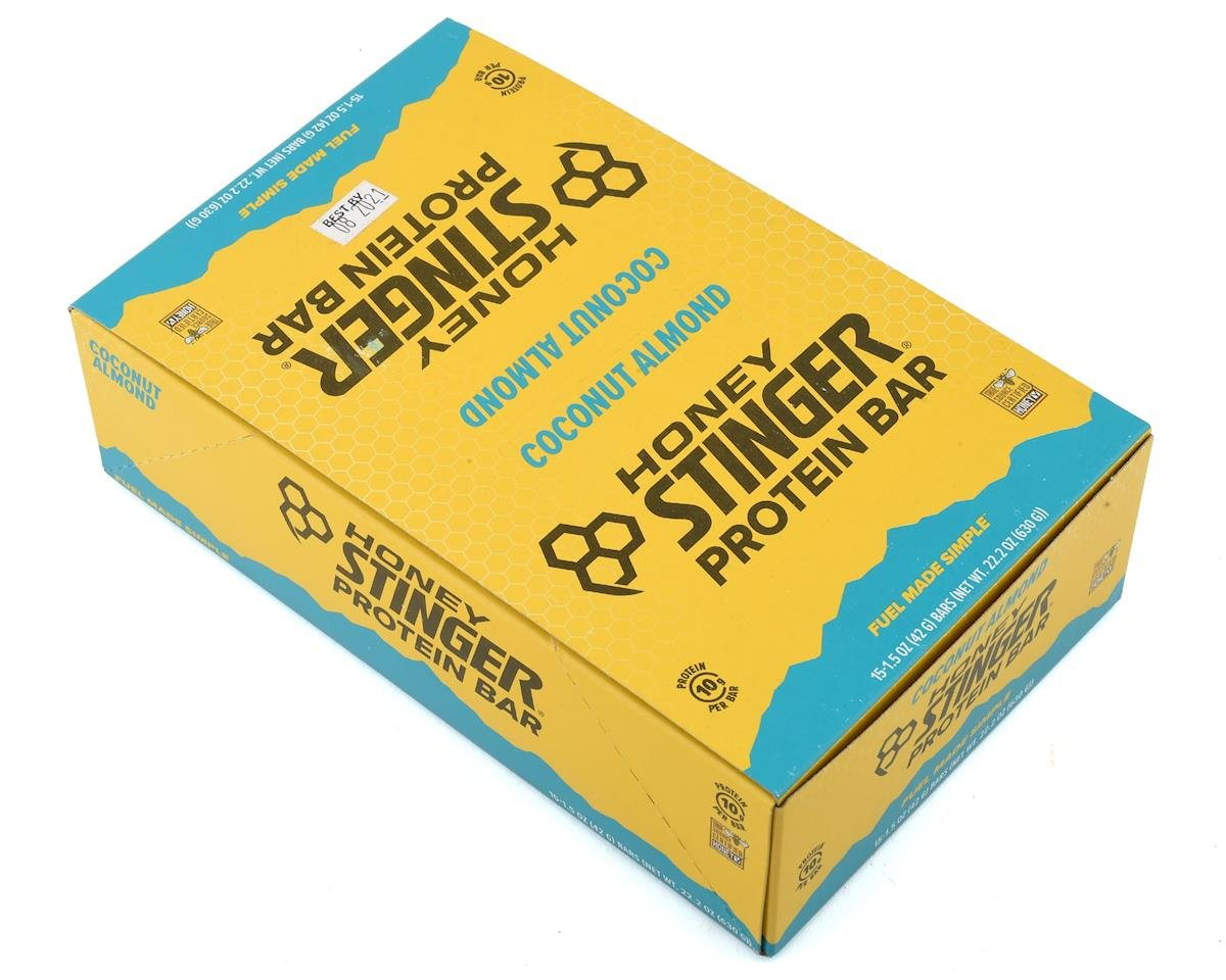 Honey Stinger 10g Protein Bar (Chocolate Coconut Almond) (15)