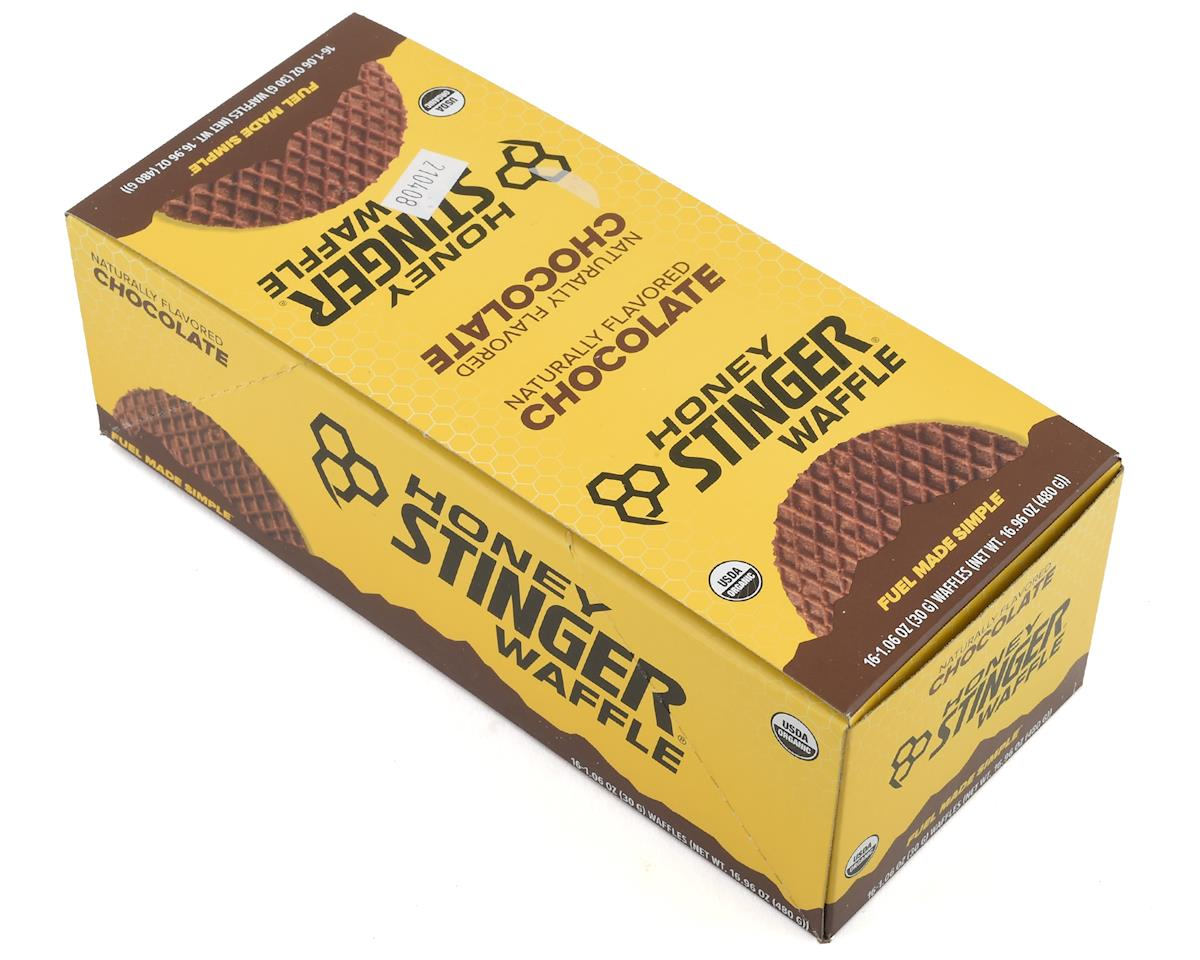 Honey Stinger Organic Waffle: Chocolate, Box of 16