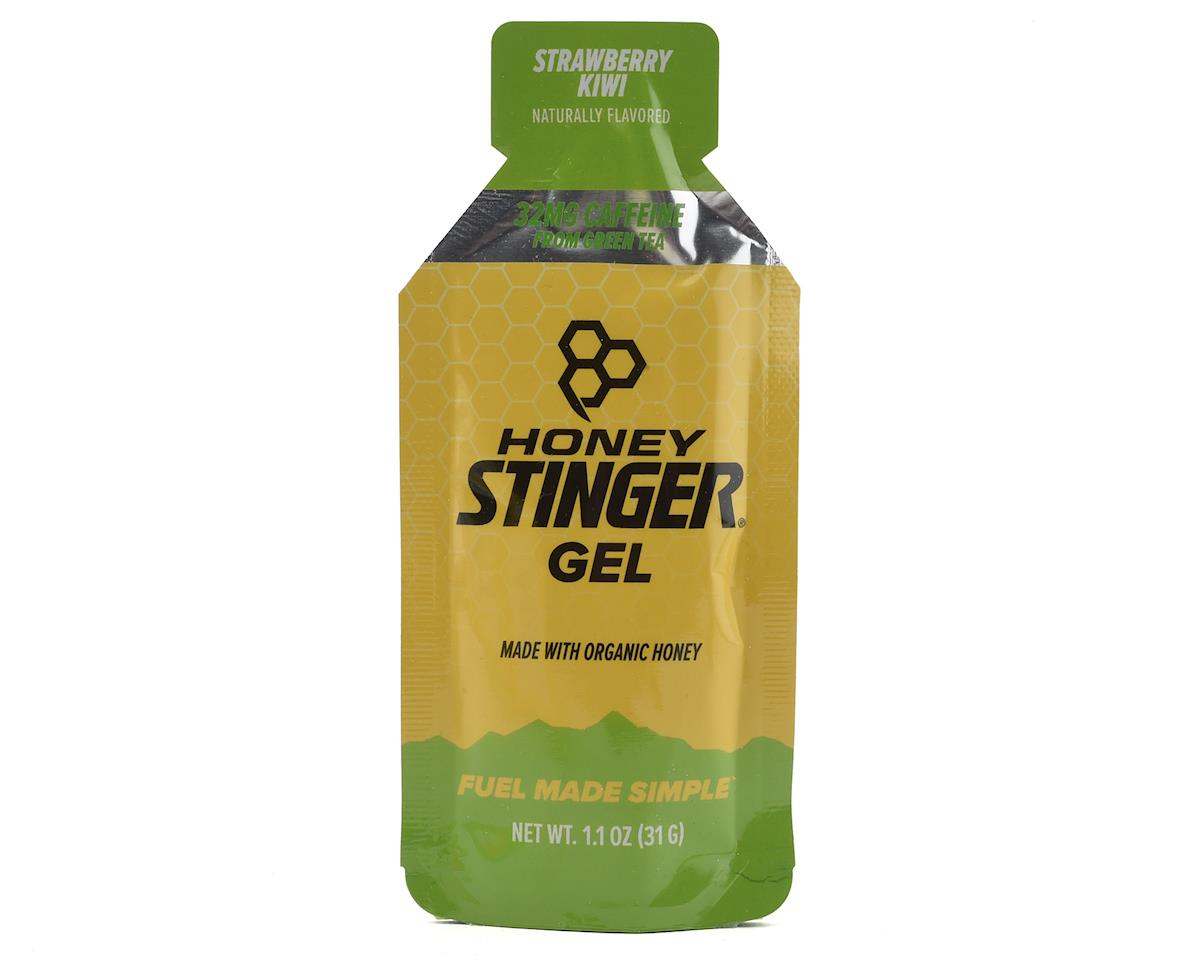 Honey Stinger Organic Energy Gel (Kiwi-Strawberry w/ Caffeine) (24 1.2oz Packets)