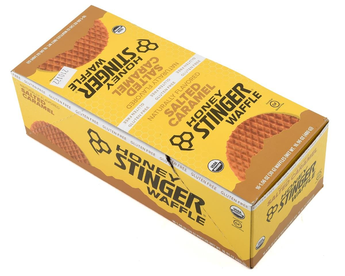 Honey Stinger Waffle (Salted Caramel) (16 1.0oz Packets)