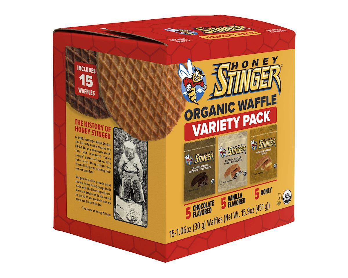 Image 1 for Honey Stinger Organic Waffles - Mixed Box of 15