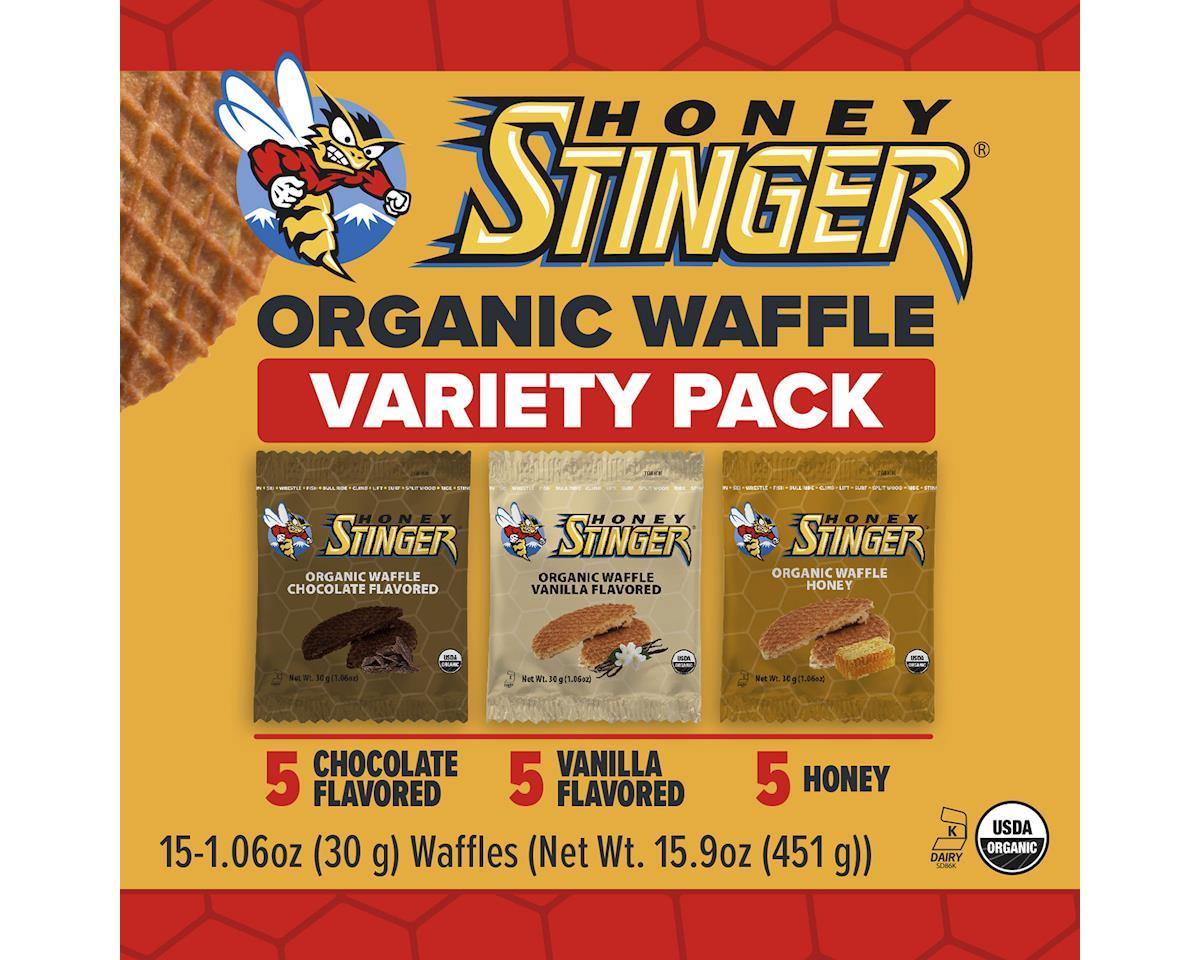 Image 2 for Honey Stinger Organic Waffles - Mixed Box of 15