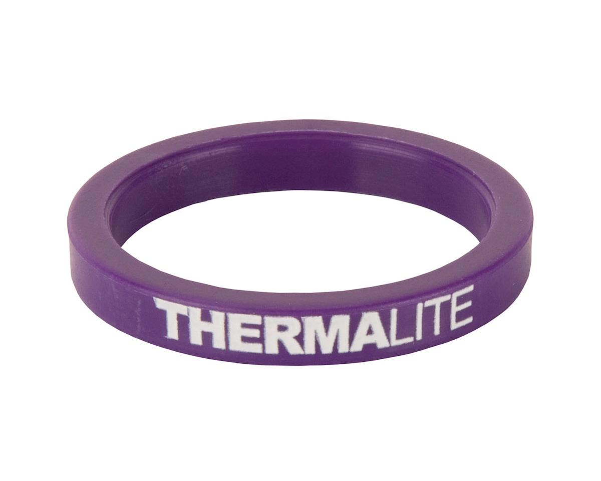 """Stolen Thermalite 1-1/8""""Headset Spacer (Purple) (5mm)"""