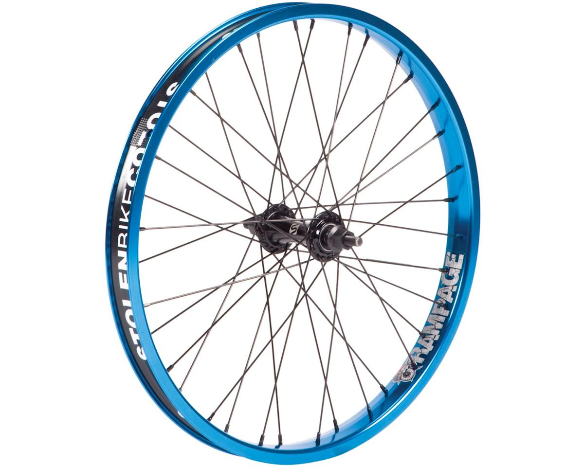 """Stolen Rampage Front Wheel (Black/Blue) (20 x 1.75"""")"""