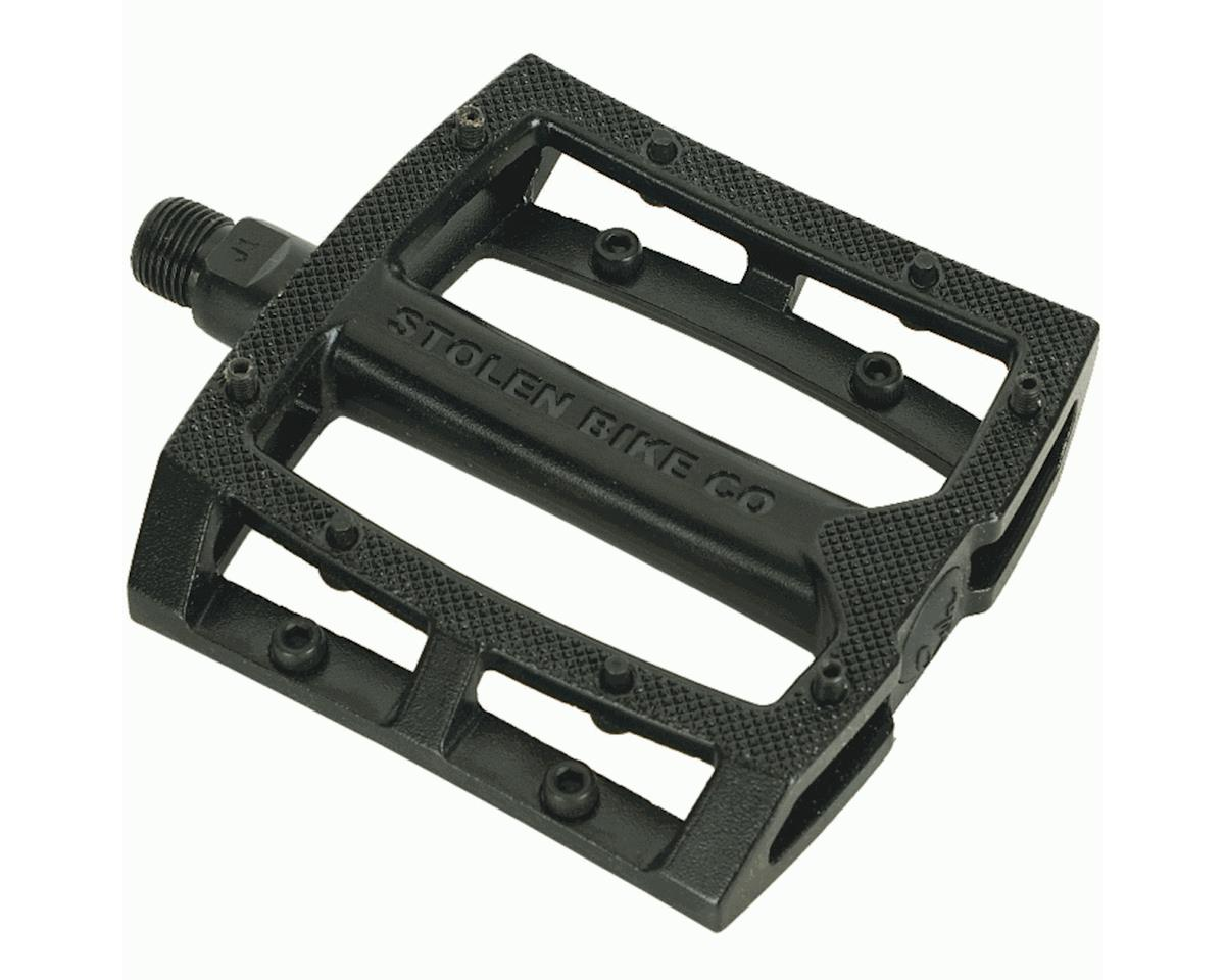 Stolen Throttle Unsealed Pedals (9/16) (Black)