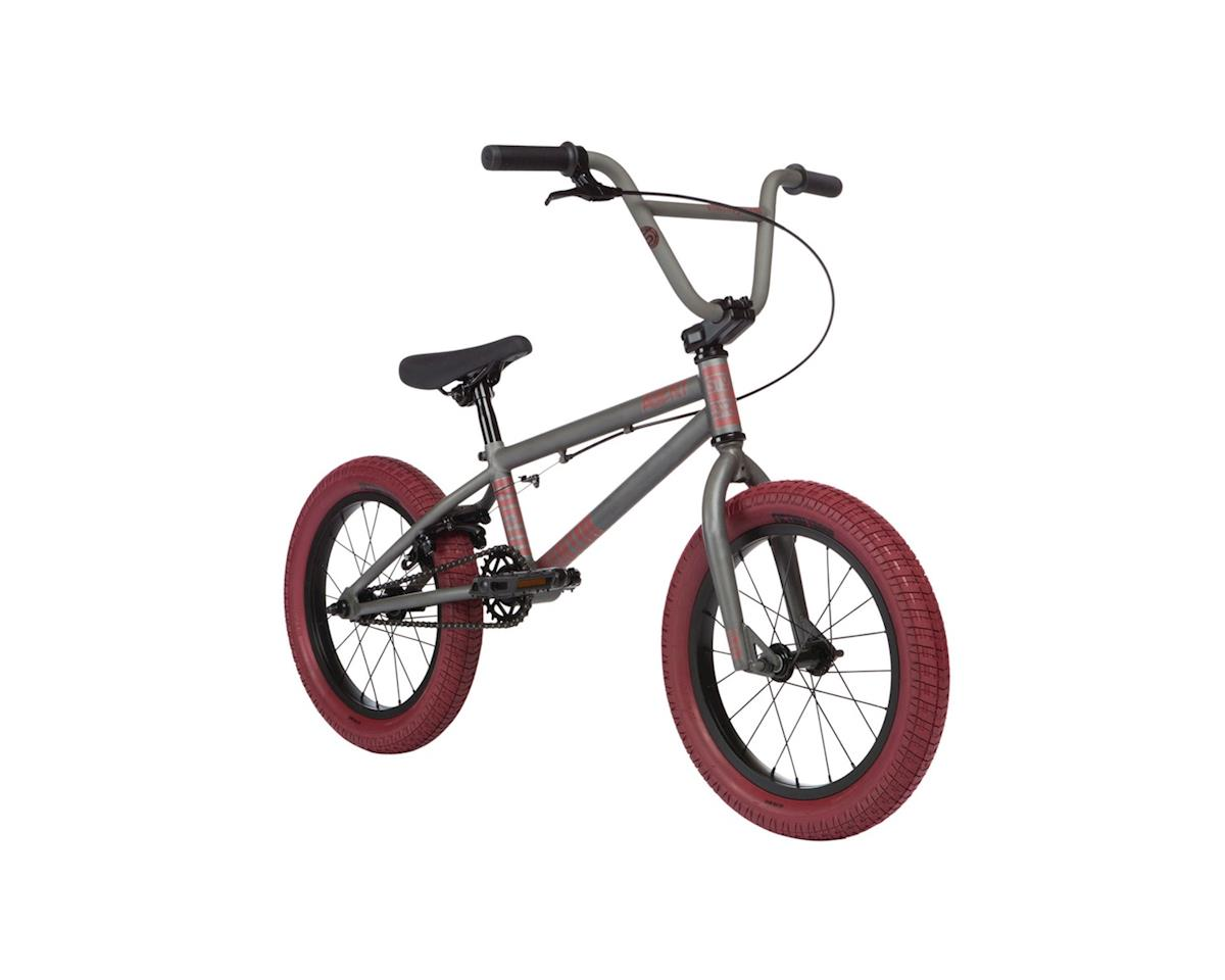 "Stolen 2020 Agent 16"" Bike (16.25"" Toptube) (Matte Clear Raw/Red)"