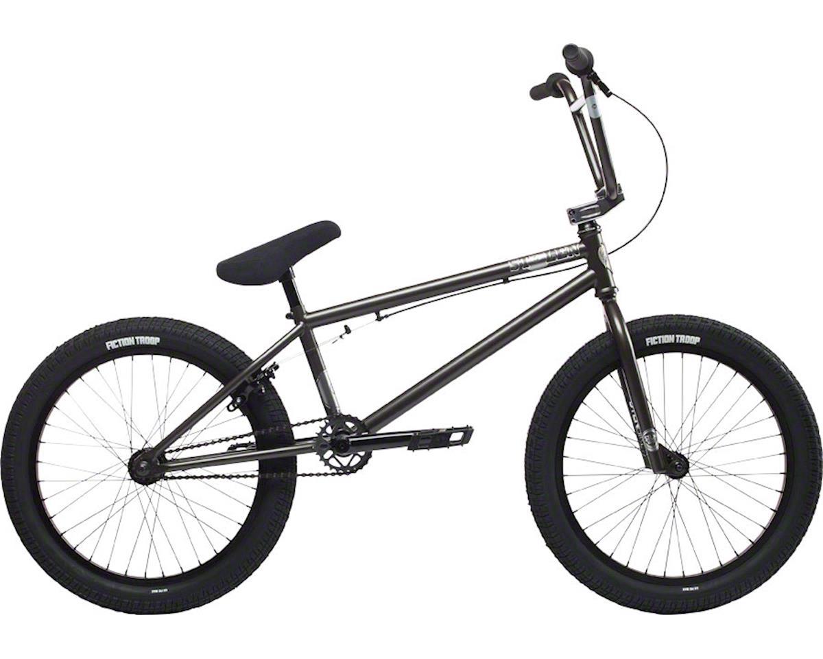 """Stolen 2018 Stereo 20"""" BMX Bike Matte Silver"""