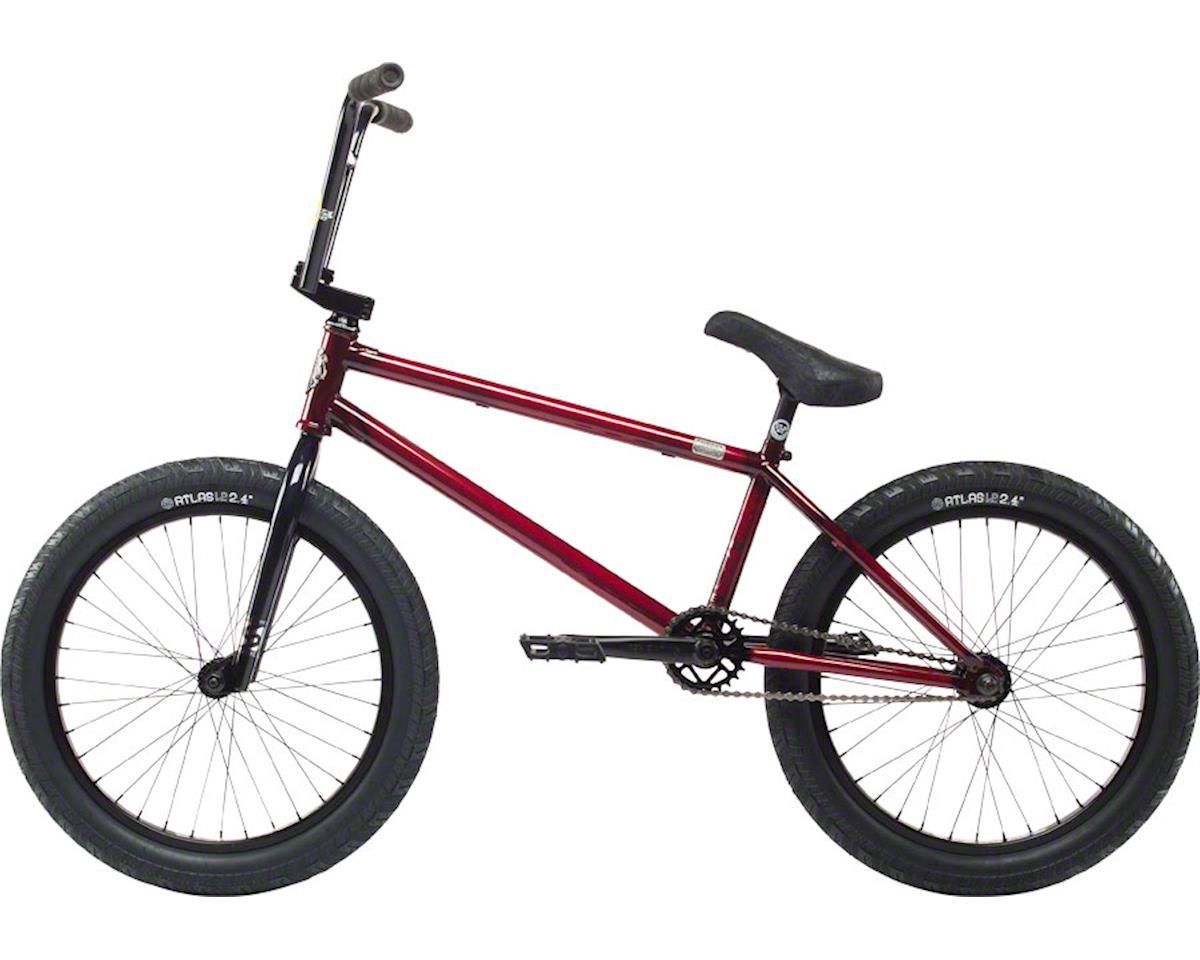 """Stolen 2018 Sinner FC 20"""" BMX Bike LHD Trans Black/Red"""