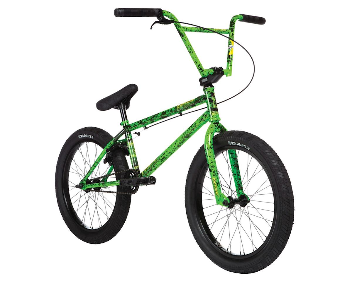 "Stolen 2020 Stolen X Fiction Creature Bike (21"" TT) (Toxic Green Splatter)"