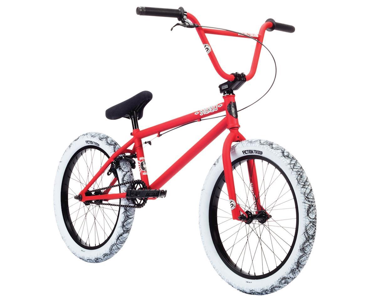 "Stolen 2019 Stereo 20"" BMX Bike Matte Fire Engine Red/Gum"