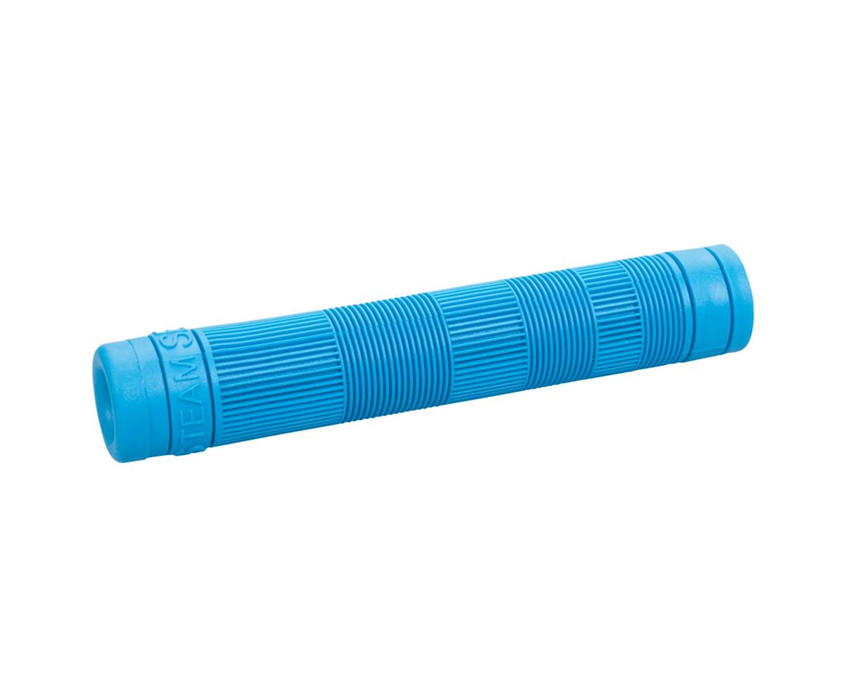 Stolen Team Flangeless Grips (Pair) (Bright Blue)