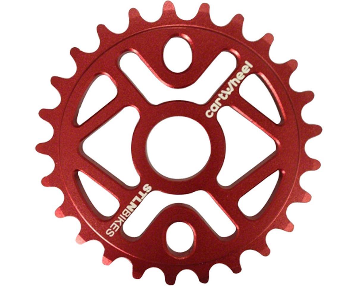 Cartwheel 28T Sprocket Red