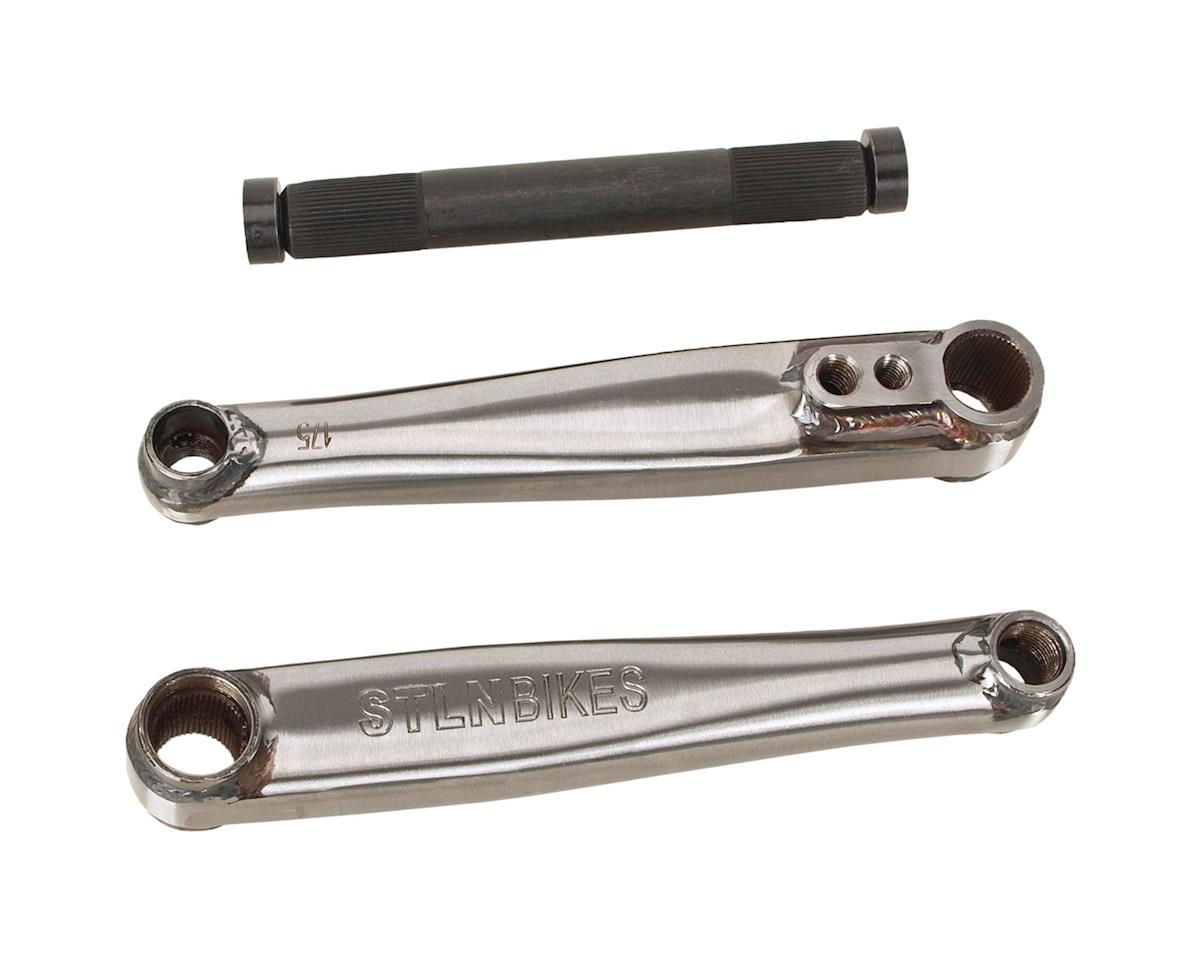 Stolen Talon V2 Cranks (Phosphate Raw) (175mm)