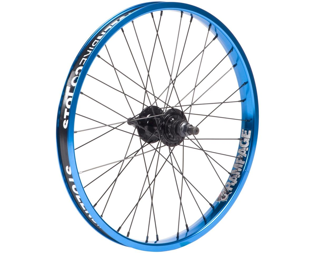 Stolen Rampage Cassette Wheel (Black/Blue)