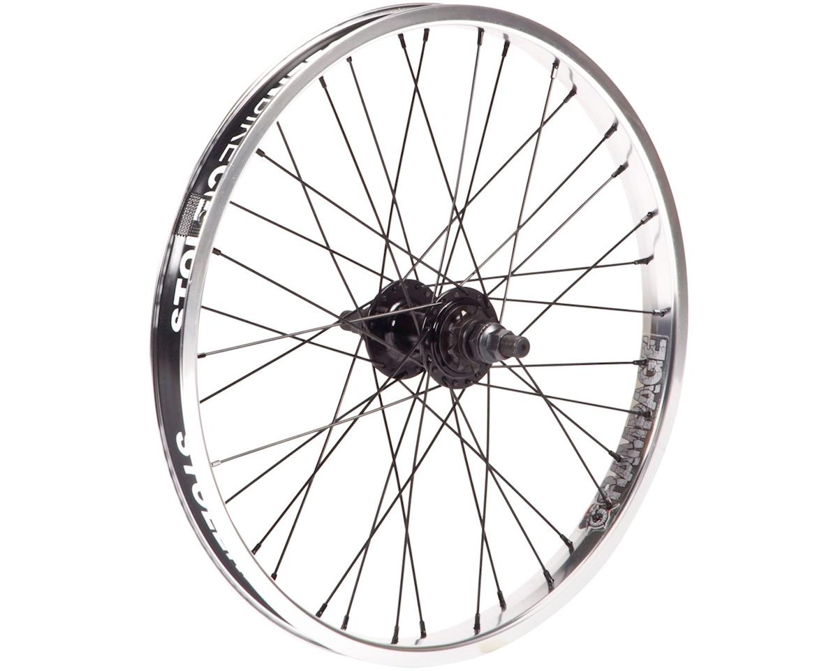 "Stolen Rampage Cassette Wheel (Black/Polished) (20 x 1.75"")"