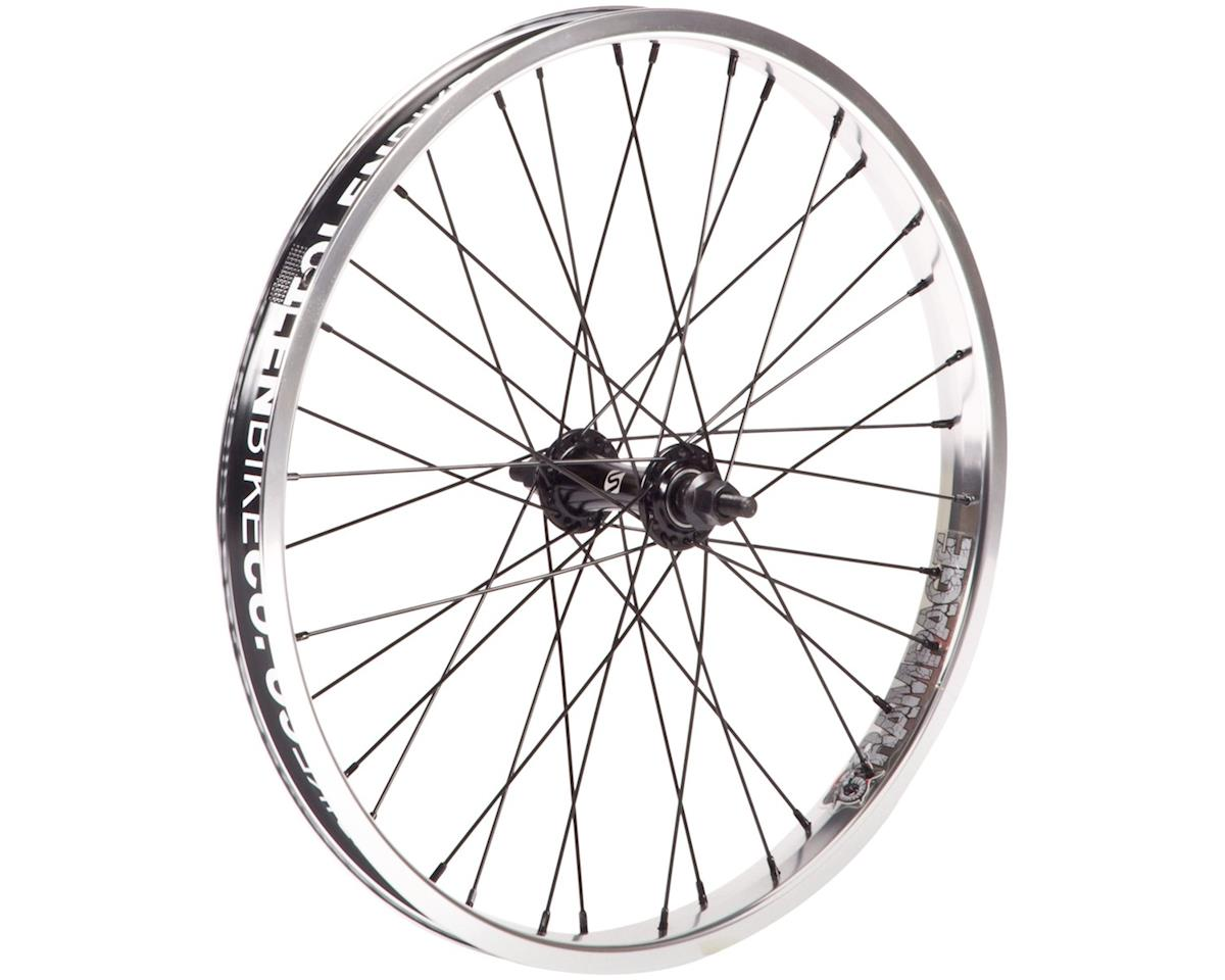 "Stolen Rampage Front Wheel (Black/Polished) (20 x 1.75"")"