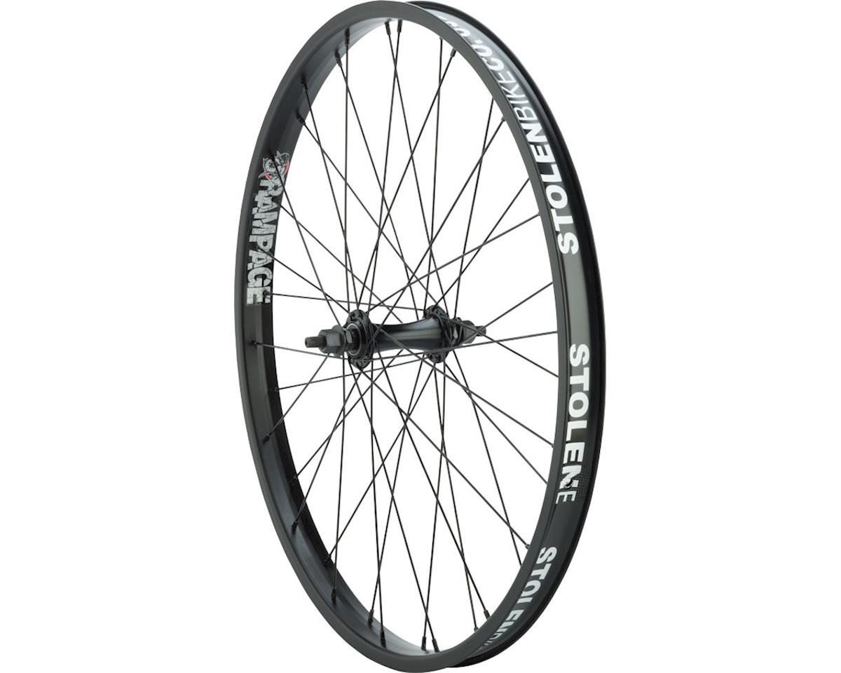 """Stolen Rampage Front Wheel - 24"""", 3/8"""" x 100mm, Rim Brake, Black, Clincher"""