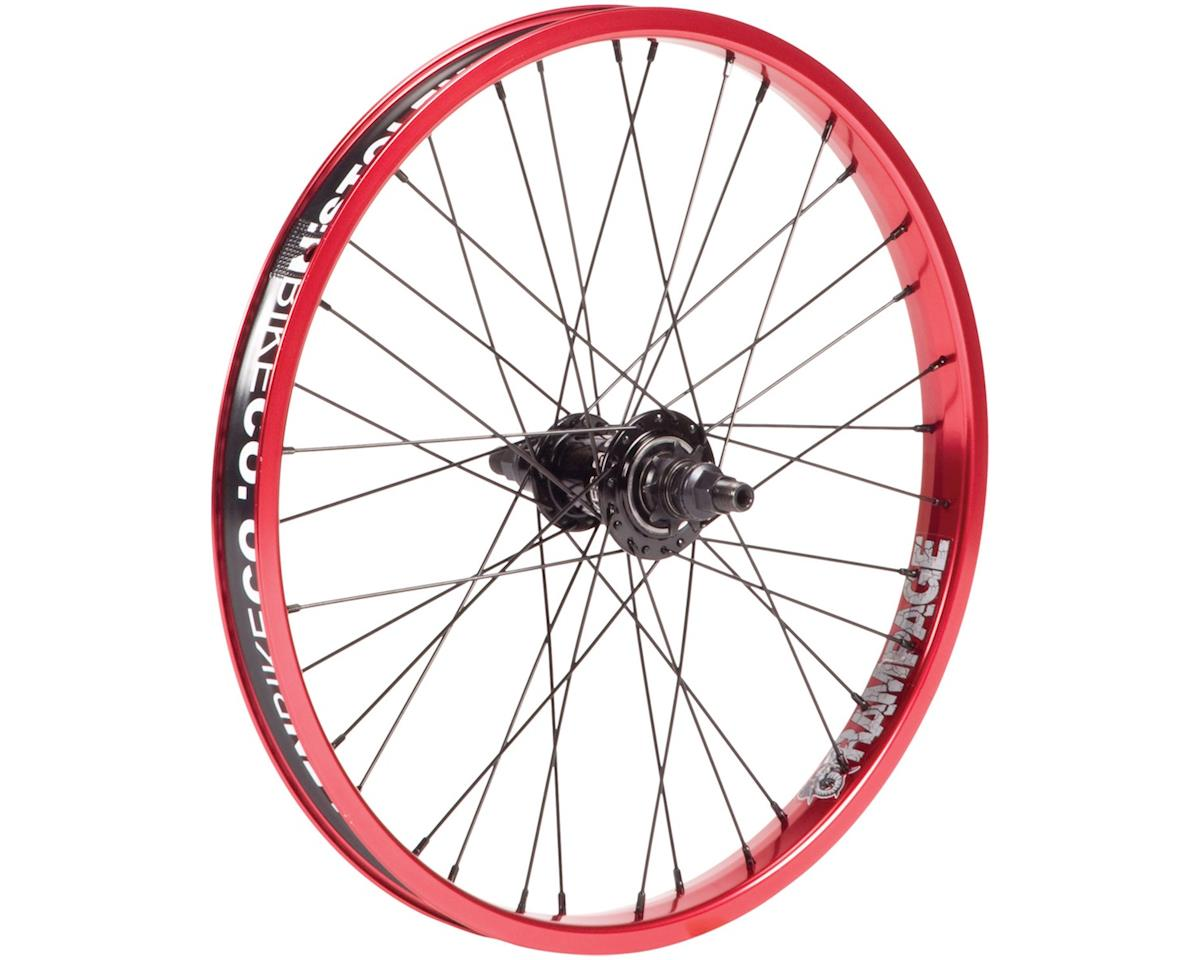 Rampage FC Rear Wheel Red