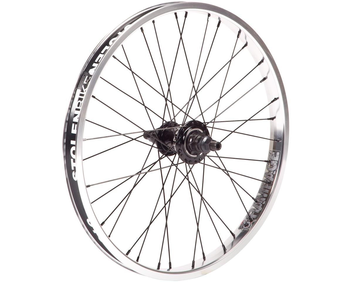 "Stolen Rampage Freecoaster Wheel (Black/Polished) (20 x 1.75"")"