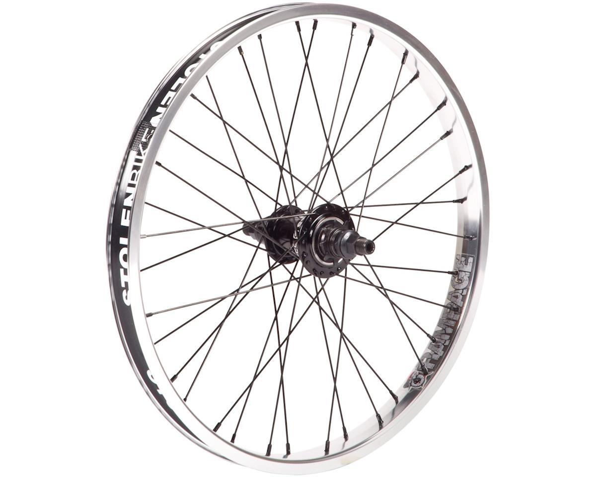 "Stolen Rampage Freecoaster Wheel (Black/Polished) (20 x 1.75"")"
