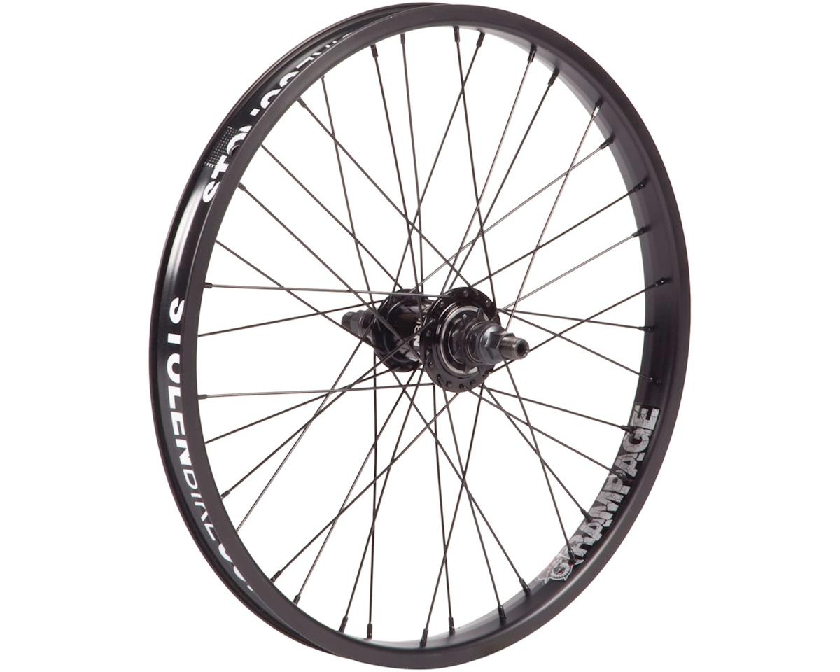 "Stolen Rampage Rear Wheel - 20"", 14 x 110mm, Rim Brake, LHD Freecoaster, Black,"