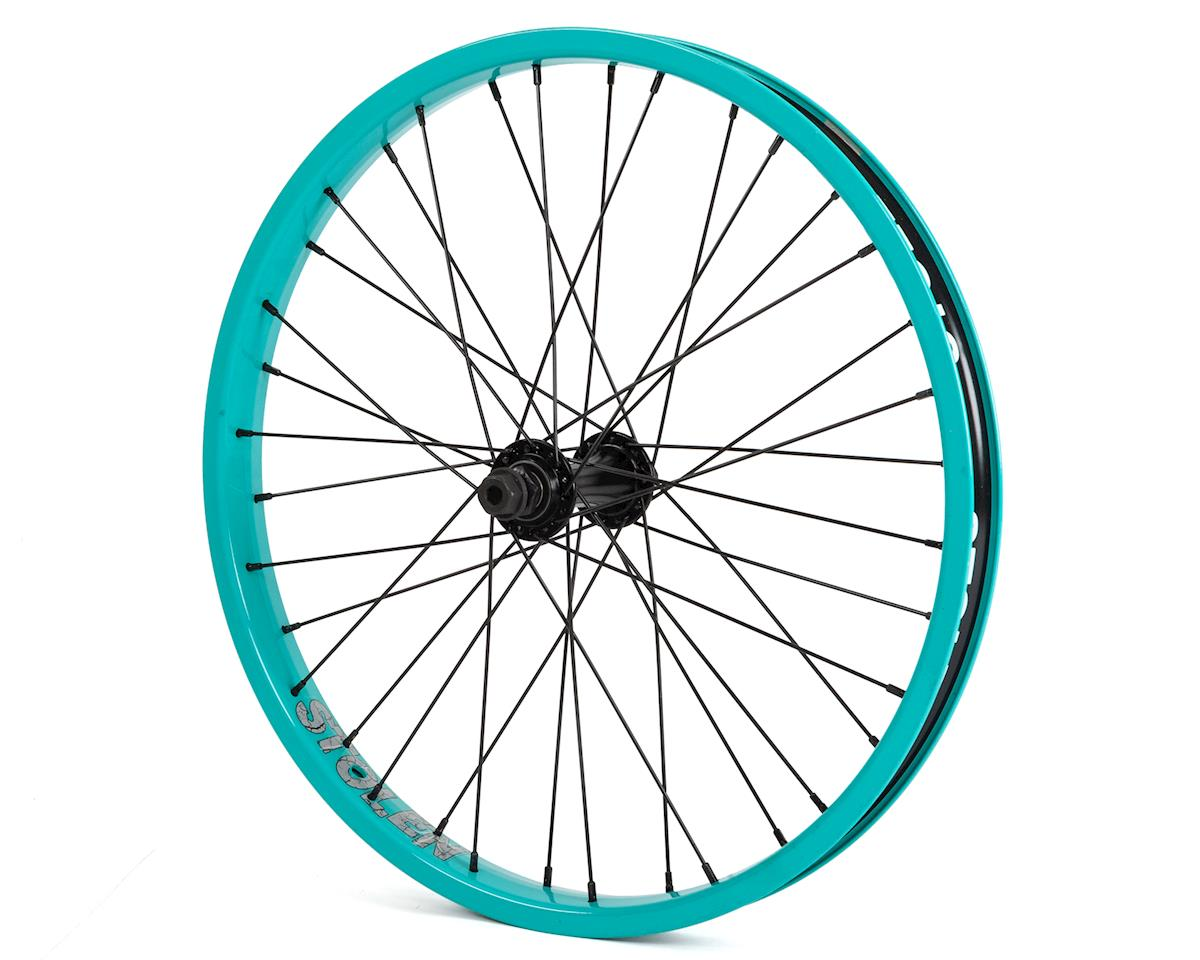 "Image 1 for Stolen Rampage FA Front Wheel (Caribbean Green) (20 x 1.75"")"