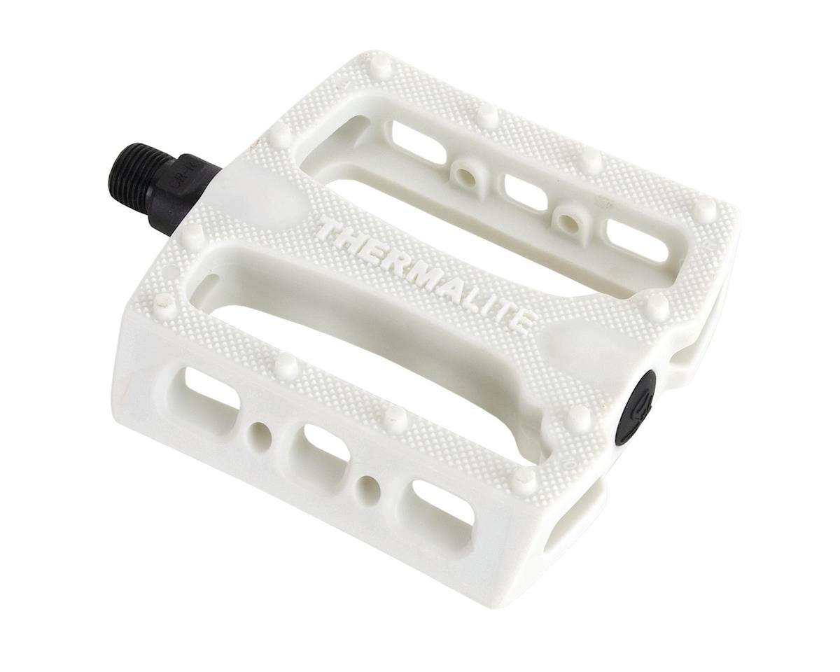Stolen Thermalite PC Pedals (9/16) (White)