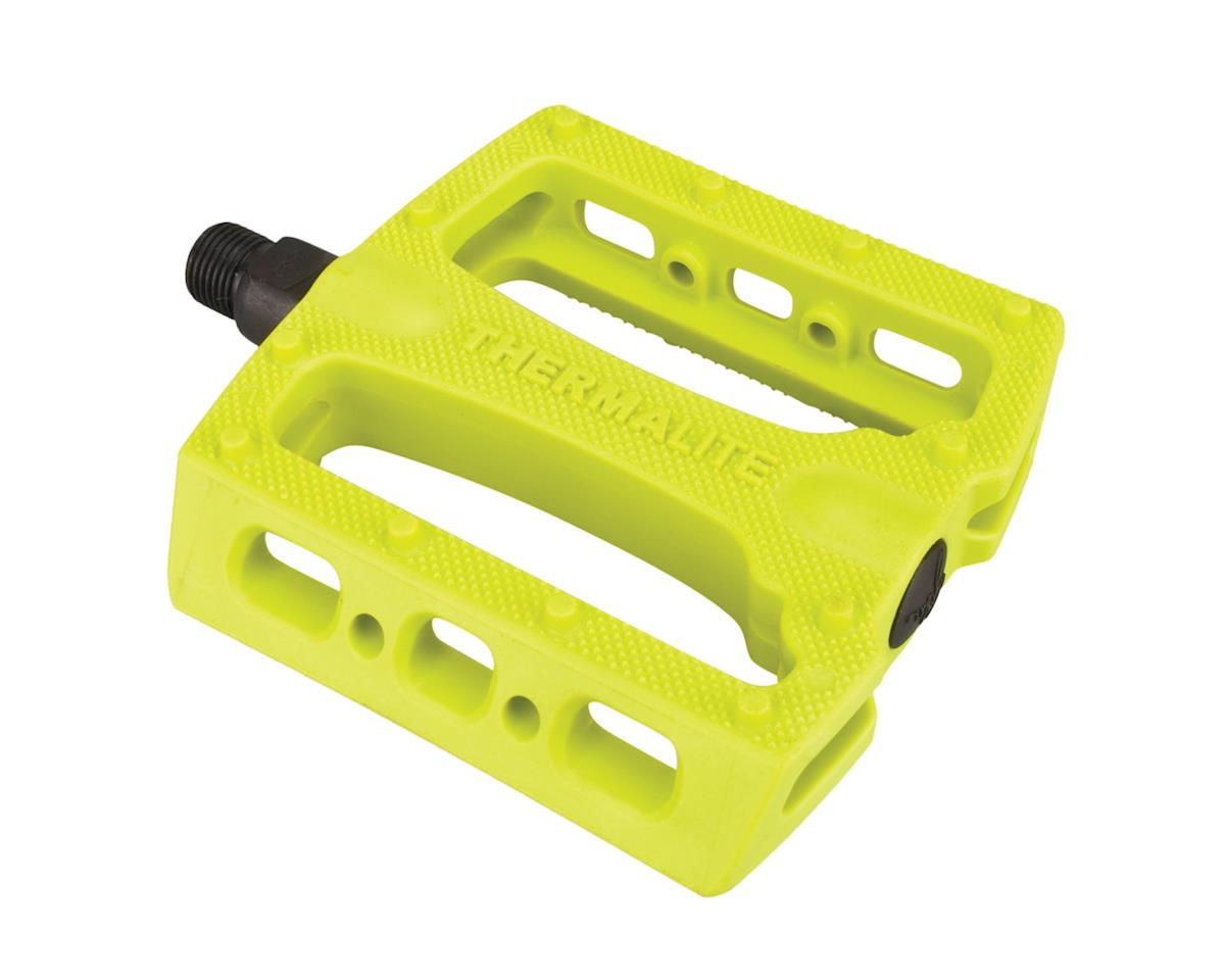 Stolen Thermalite PC Pedals (9/16) (Neon Yellow)