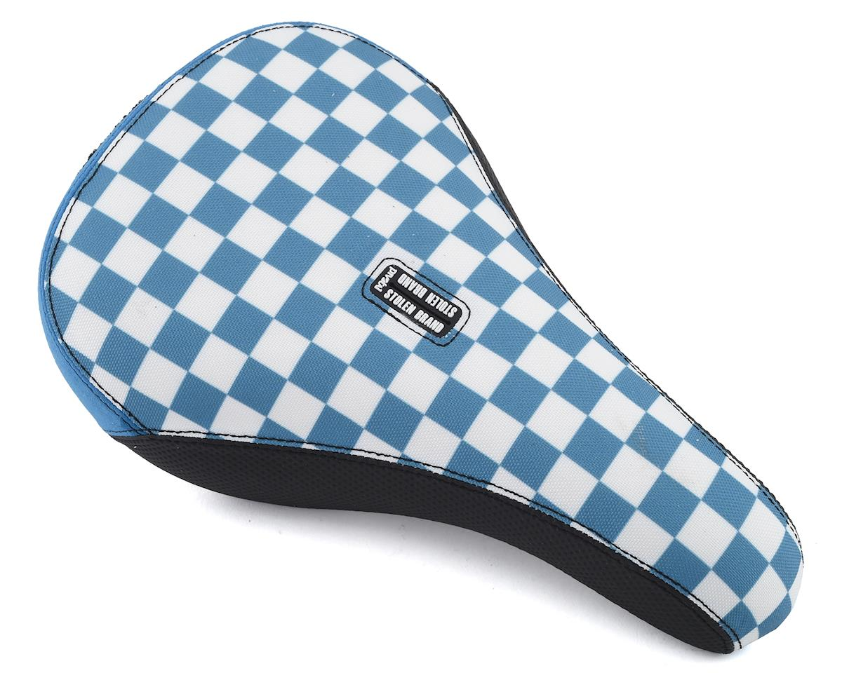 Stolen Fast Times XL Checkerboard Pivotal Seat (Blue/White)