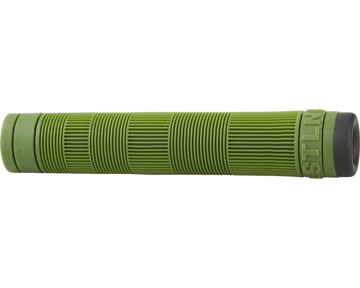 Stolen Team Flangeless Grips (Pair) (Spec Ops Green)