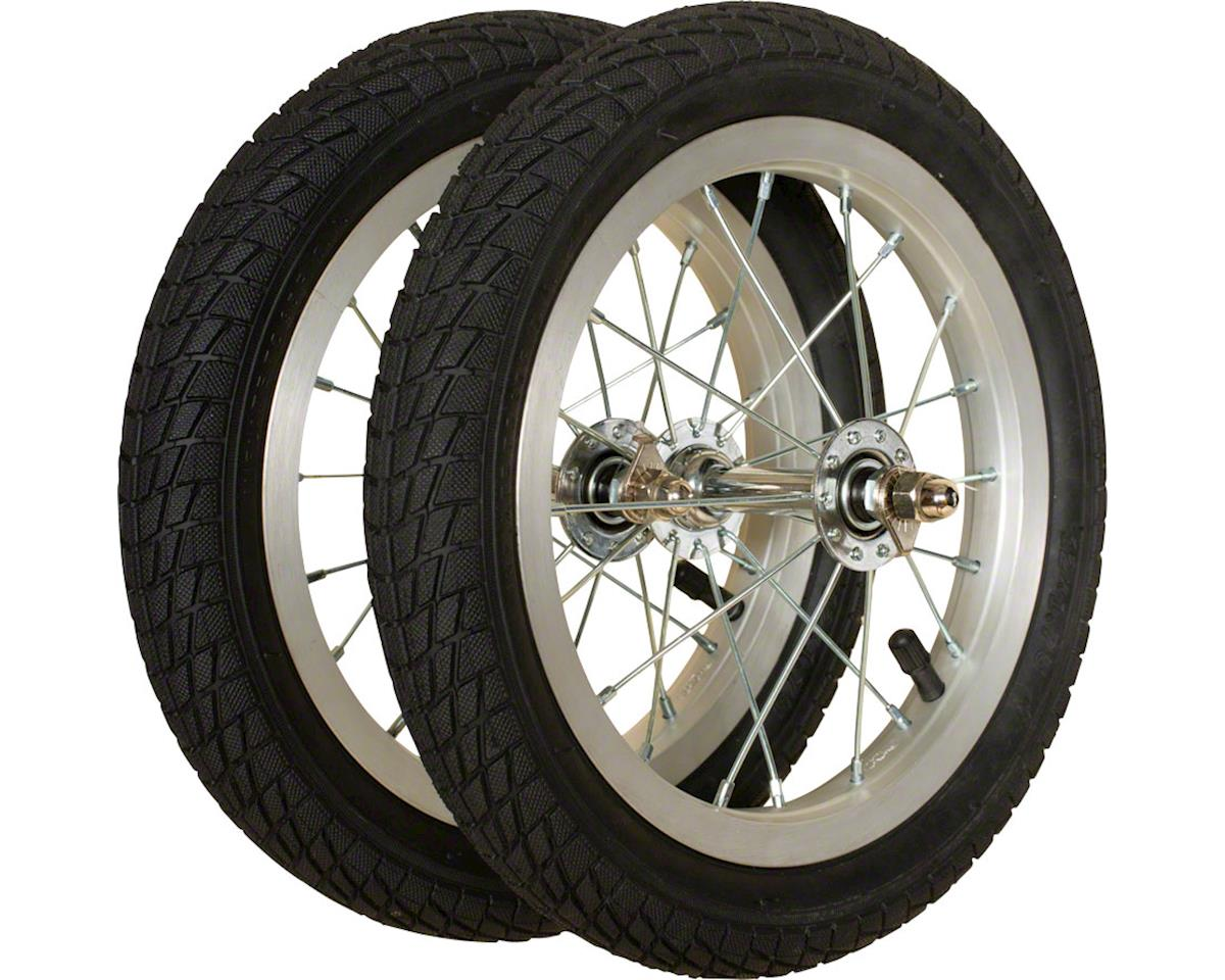 Strider Balance Bike Replacement Wheel Alloy//Pneumatic Pair