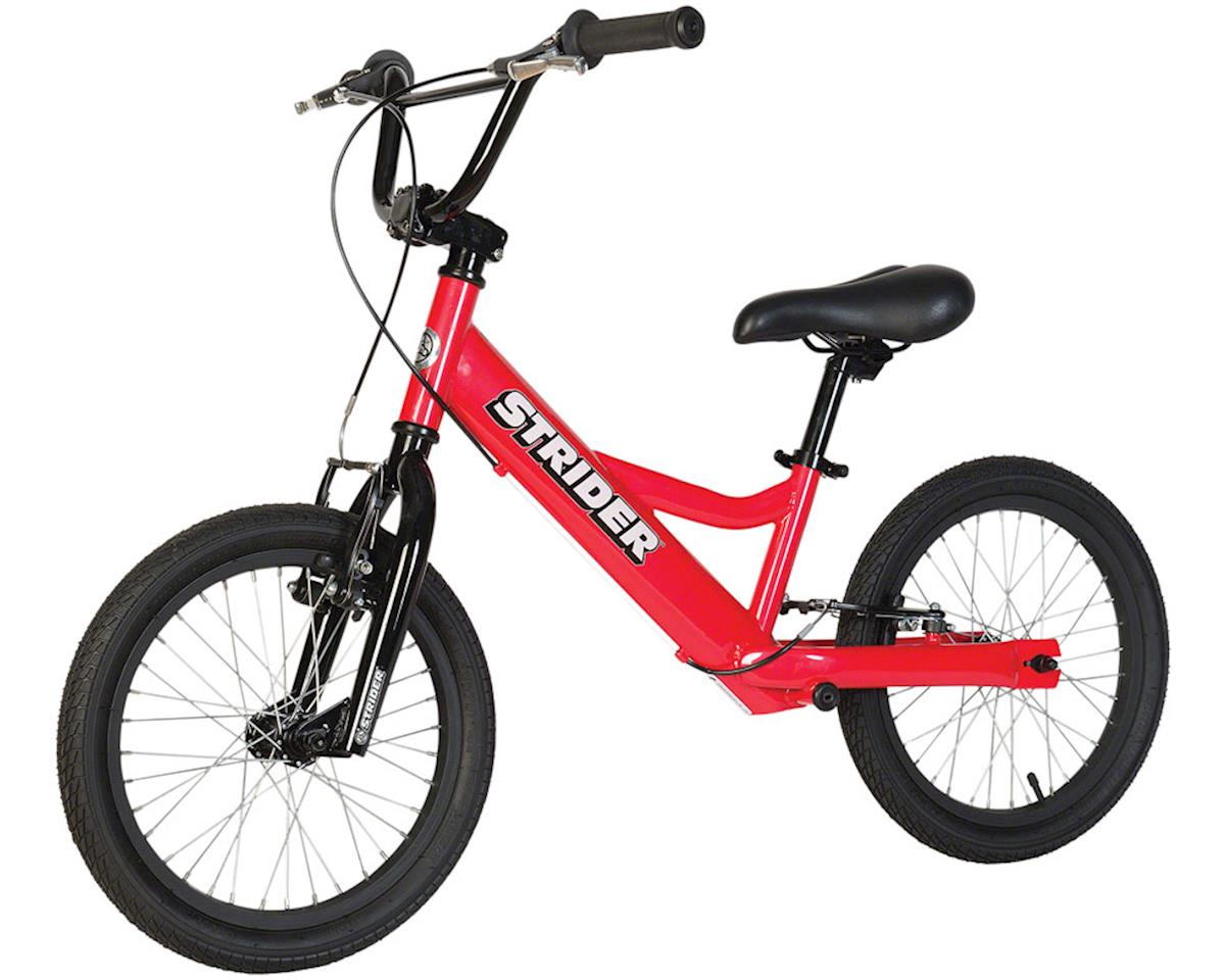 Strider 16 Sport Balance Bike: Red