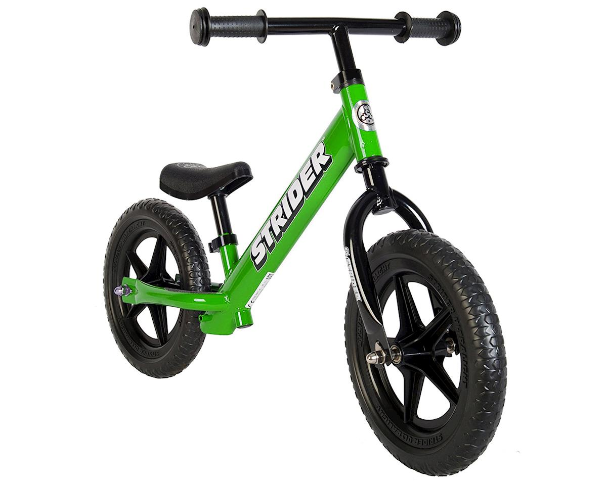 Strider Sports 12 Classic Balance Bike (Green)