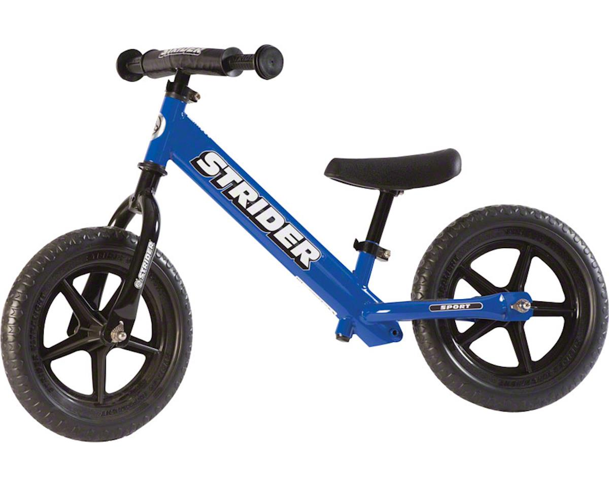 Strider 12 Sport Kids Balance Bike: Blue