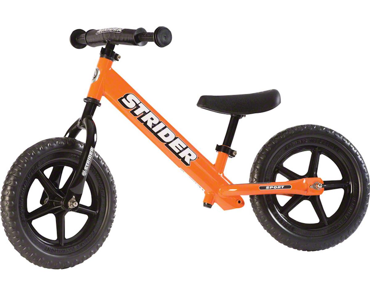 Strider 12 Sport Kids Balance Bike: Orange