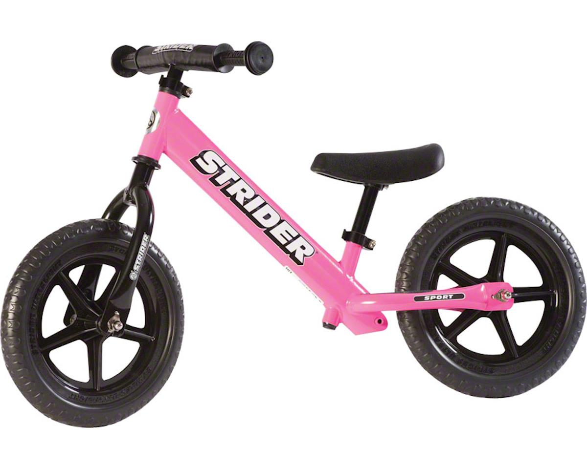 Strider 12 Sport Kids Balance Bike: Pink