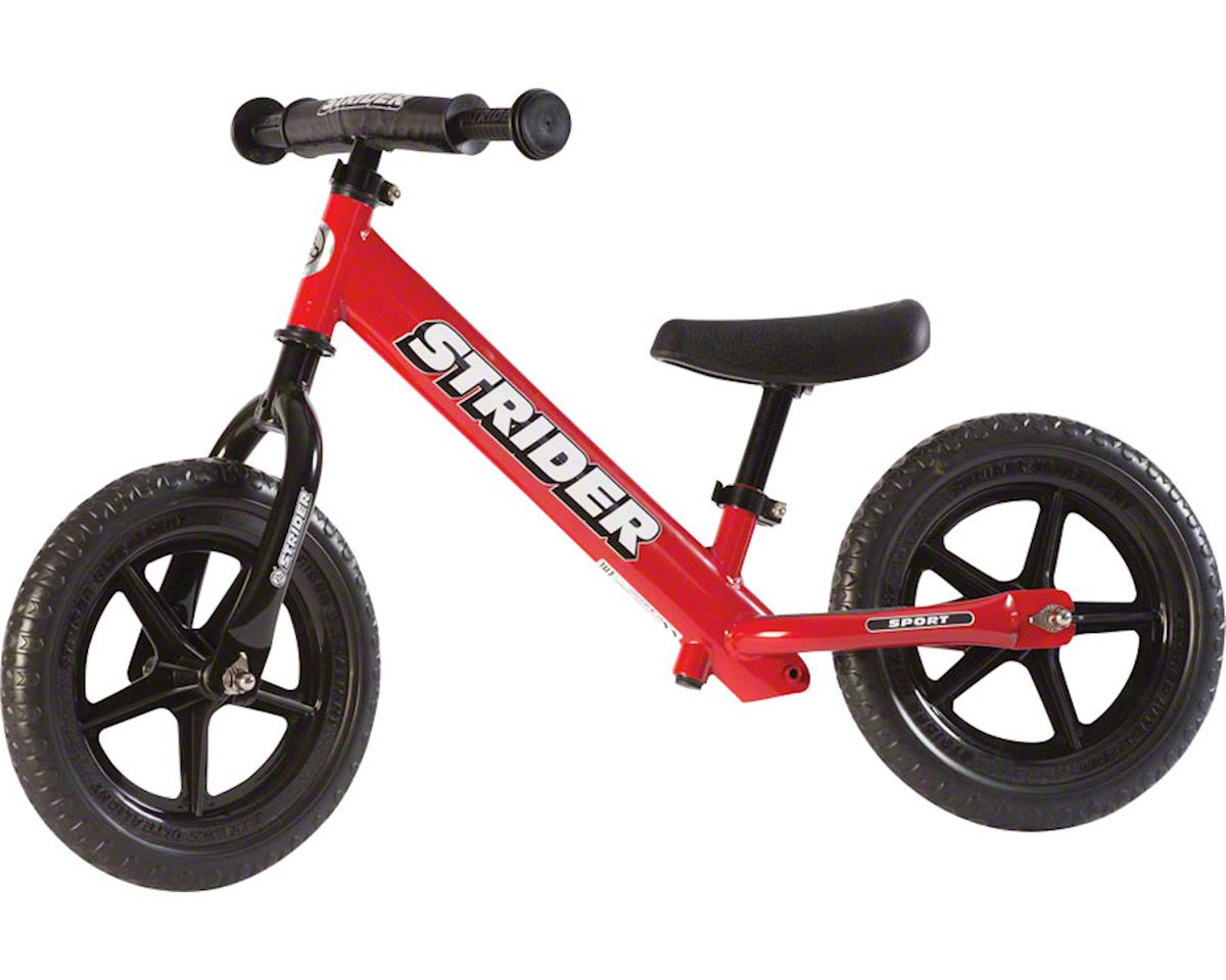 Strider Sports 12 Sport Kids Balance Bike (Red)